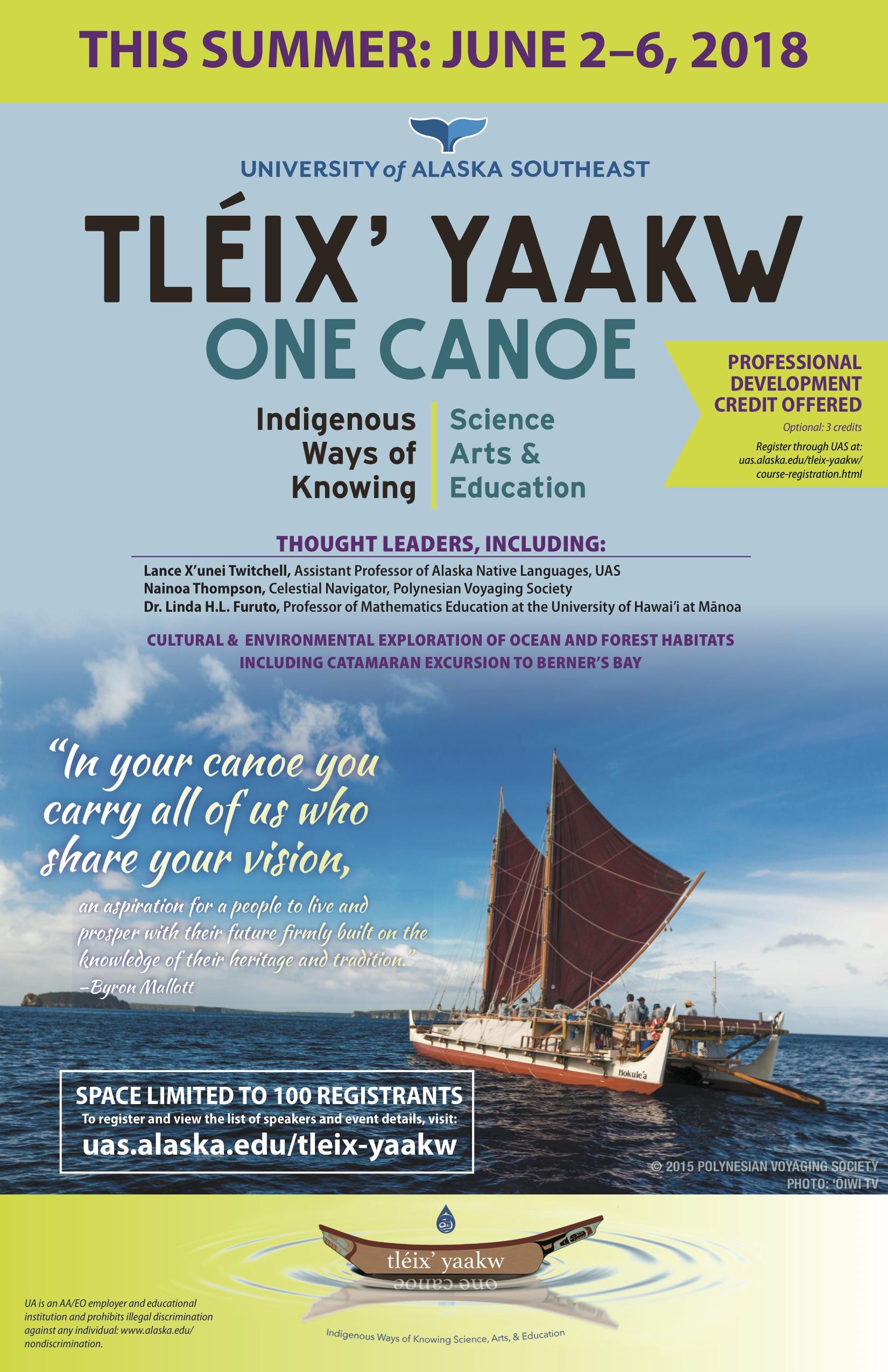 For Teachers: Summer One Canoe Sessions